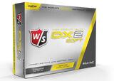 Wilson Staff Gelb DX2 Soft Golfbälle 12 Stück