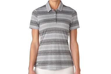 adidas Golf Multi Melange Poloshirt Für Damen