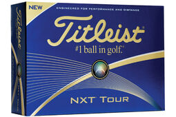 12 Balles de golf Titleist NXT Tour 2016