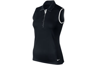 Nike Golf Victory Colour Block Sleeveless Ladies Polo Shirt