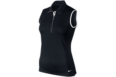 Nike Golf Ladies Victory Colour Block Sleeveless Polo Shirt