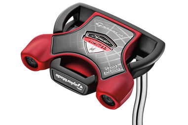 TaylorMade Itsy Bitsy Spider Limited Red Putter - Mallet