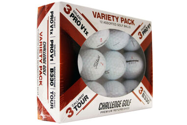 Challenge Golf Grade A Variety 12 Ball Pack