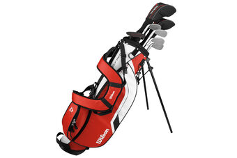 Wilson Deep Red Junior Age 12-14 Package Set