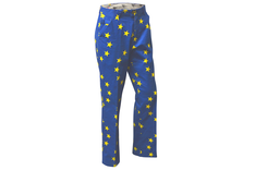 Royal & Awesome Eurostar Flag Trousers