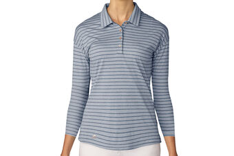 adidas Golf Long Sleeve Ladies Polo Shirt