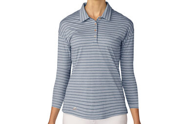 adidas Golf Ladies Long Sleeve Polo Shirt