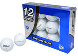 12 Balles de golf Second Chance Titleist DT Solo Grade A