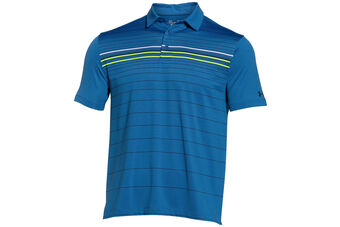 Under Armour coldblack Engineered Stripe Polo Shirt