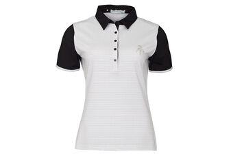 Green Lamb Cliona Pin Dot Ladies Polo Shirt