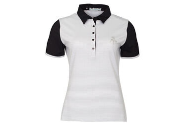 Green Lamb Ladies Cliona Pin Dot Polo Shirt