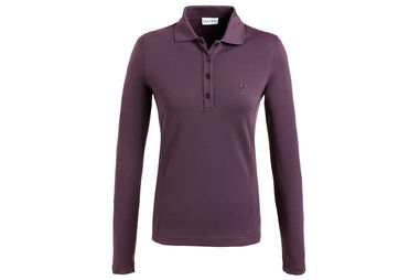GOLFINO Ladies Brushed Sun Protection Polo Shirt