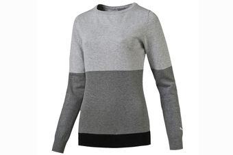 PUMA Golf Colour Block Ladies Sweater