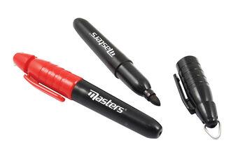 Masters Golf Wateproof Marker Pen - 2 Pack