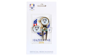 Ryder Cup Pitchfork & Ball Markers
