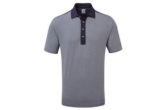 FootJoy Heather Solid Lisle Polo Shirt