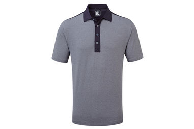 FootJoy Heather Solid Lisle Poloshirt