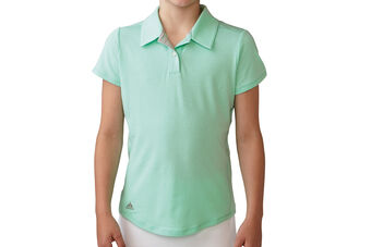 adidas Golf Essentials Heather Junior Polo Shirt