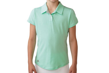 adidas Golf Junior Essentials Heather Poloshirt