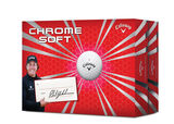 Lot de 24 balles Chrome Soft de Callaway Golf