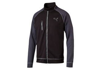 PUMA Golf PWRWARM Colourblock Full Zip Windshirt