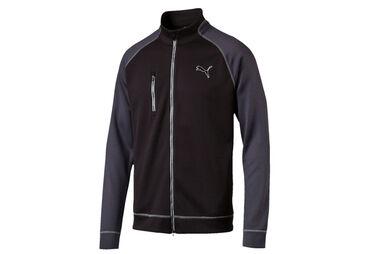 PUMA Golf PWRWARM Colourblock Full Zip Windshirt