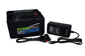 Powerpack 36 Hole Lithium Battery & Charger