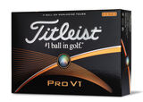 12 Balles de golf Titleist Pro V1 High Number