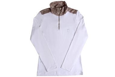 GOLFINO Ladies Dry Comfort Troyer Polo shirt