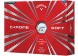 12 Balles de golf Callaway Golf Chrome Soft 2016