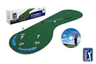 Tapis de putt de longueur professionnelle 3x9 PGA Tour