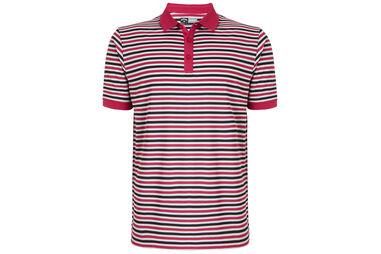 Callaway Golf Chev Striped Poloshirt