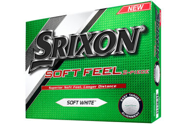 12 Balles de golf Srixon Soft Feel 2016