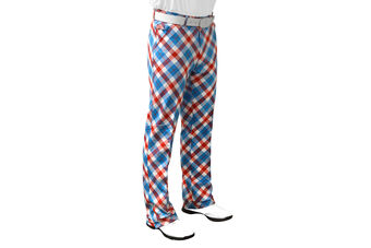 Royal & Awesome Plaid a Blinder Trousers