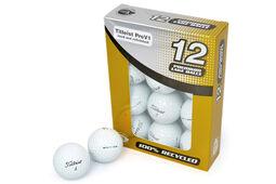 12 Balles de golf seconde chance grade A Pro V1