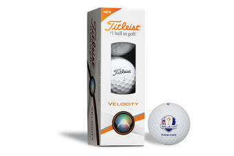 Titleist Velocity Ryder Cup 3 Ball Pack 2016