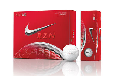 Nike Golf RZN Red-Golfbälle (12 Stück)