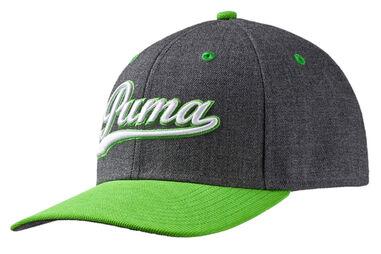 PUMA Golf Junior Script Pre-Curve Cap