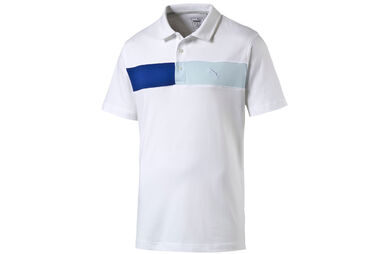 PUMA Golf Cool Touch Stripe Polo Shirt