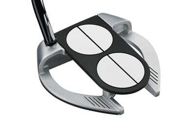 Odyssey Works Versa Lined 2 Ball Fang Tank SS Putter