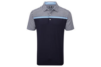 Footjoy Polo Lisle Eng Str W6