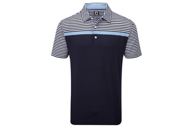FootJoy Lisle Engineered Stripe Polo