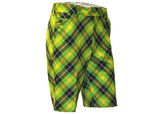 Royal & Awesome Plaid Electric Shorts