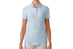 Polo adidas Golf Cotton Stripe pour femmes