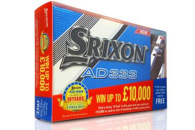 Srixon AD333 15 Golf Ball Promotion Pack