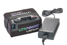 Motocaddy LitePower 15Ah 18 Hole Lithium Battery & Charger