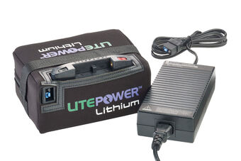 motocaddy litepower lithium 15ah battery charger from american golf. Black Bedroom Furniture Sets. Home Design Ideas