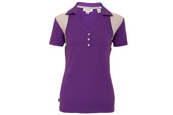 Calvin Klein Vitality Mesh Ladies Polo Shirt