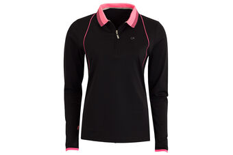 Calvin Klein Long Sleeve Pro Ladies Polo Shirt