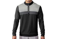 adidas Golf climacool Colour Block 1/4 Zip Windtop
